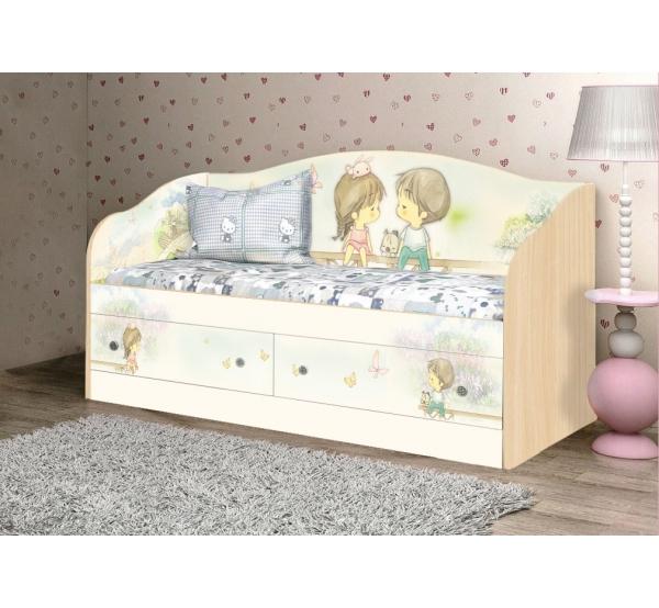 """Кровать детская """"М+Д"""" D-1.07.43 Вальтер"""