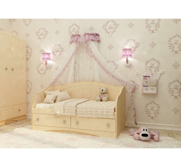 """Кровать детская """"Kiddy"""" D-1.07.K1 Вальтер"""
