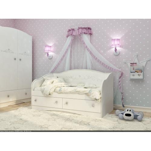 """Кровать детская """"Swarovski"""" D-5.09.SW1 Вальтер"""