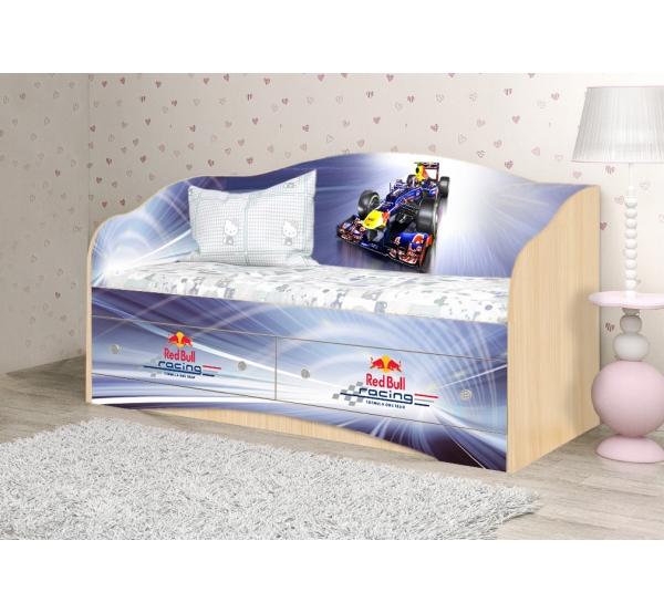 """Кровать детская """"Formula 1"""" D-10.07.55 Вальтер"""