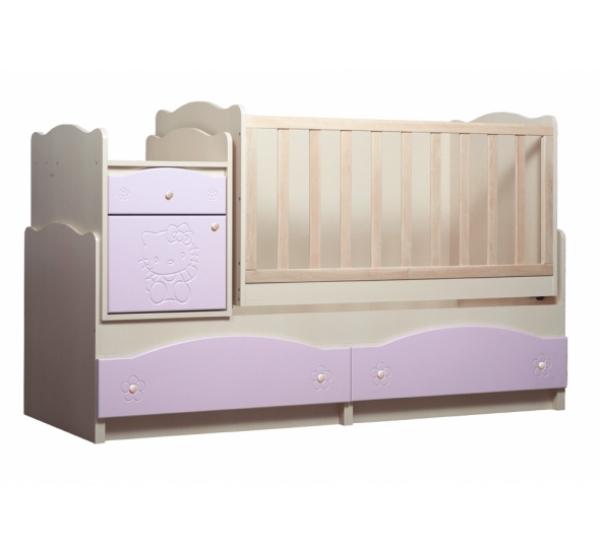 """Детская кровать трансформер """"Kiddy"""" 5в1 TR-K8 Вальтер"""
