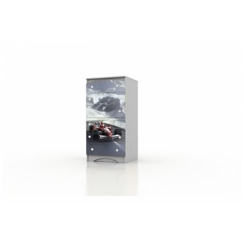"""Высокий комод """"Formula1"""" KDV-10.55 Вальтер"""