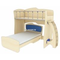 Двухъярусная кровать-чердак «Планета Луна»