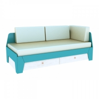 Мягкие подушки для кроватей ПД 7-1/800. ПД 7-2/900 Диско