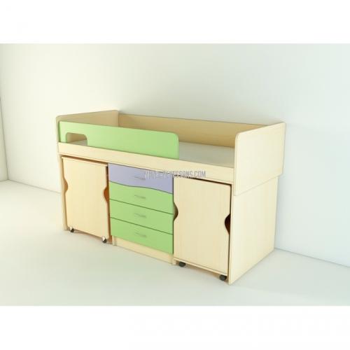 Детский мебельный комплект МК, Меридиан
